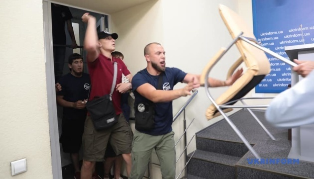 Трое сотрудников Укринформа пострадали во время нападения - НСЖУ