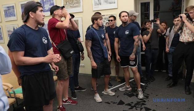За погром в Укринформе виновникам грозит до четырех лет — полиция