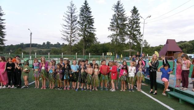 Діти з Луганщини відпочили на Прикарпатті