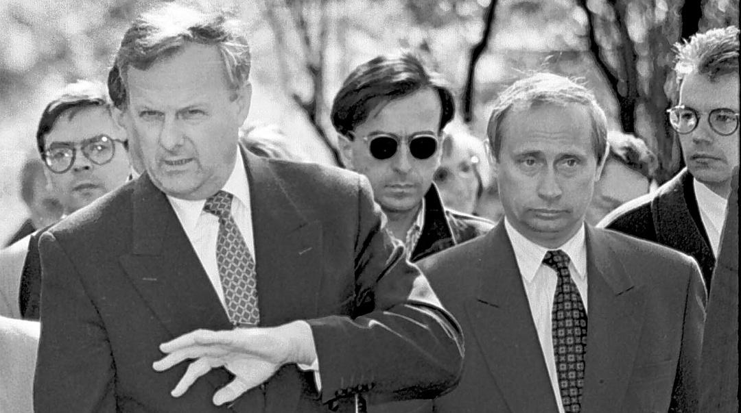 Анатолій Собчак та Володимир Путін