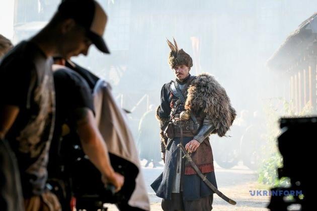 Андрій Ісаєнко у ролі козака Назара