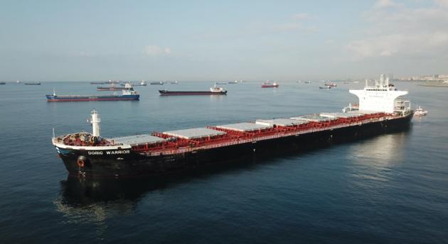 У Мармуровому морі зіткнулися танкер і суховантаж, що прямував до України зі США
