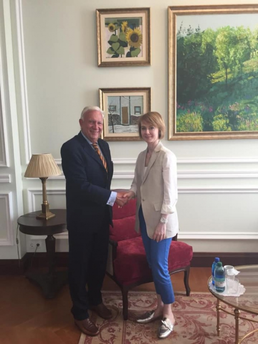 dutch ambassador ends his diplomatic mission in ukraine