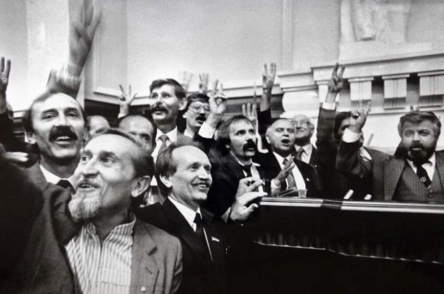 Украина стала независимой