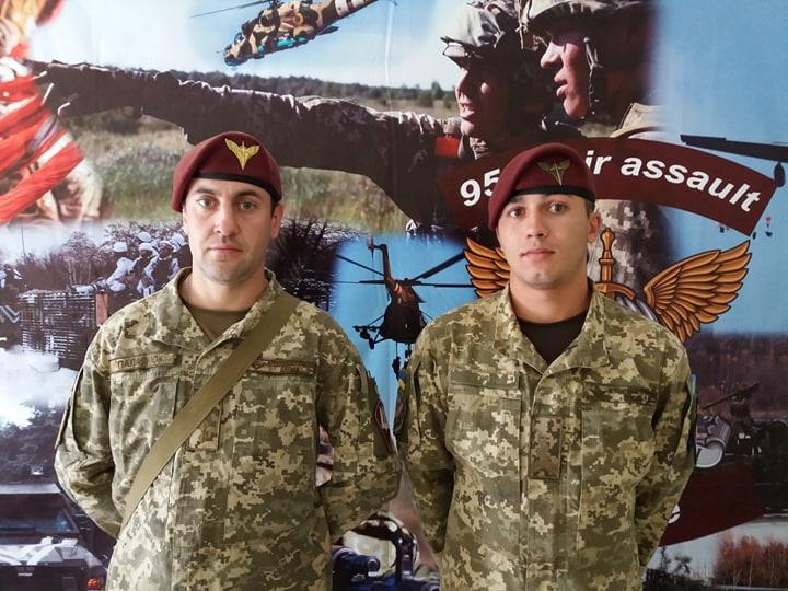 Євген Хведченя(праворуч) та Олександр Палагнюк (ліворуч)