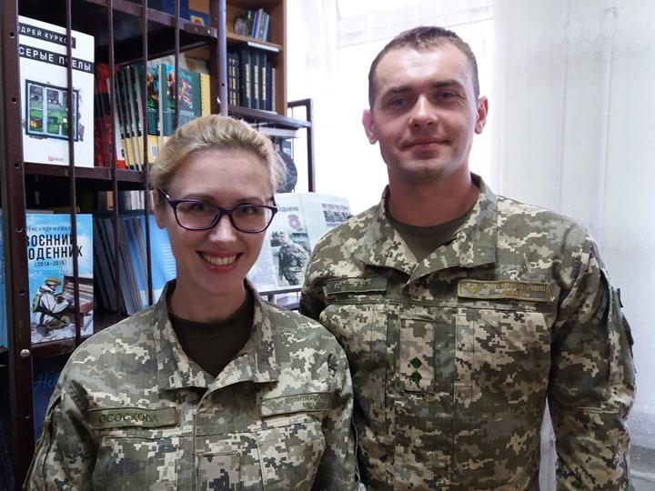 Наталія Ососкова та Дмитро Вольський