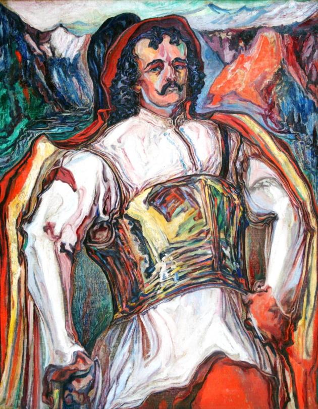 Художник Олекса Новаківський. Довбуш - володар гір, 1931 р.