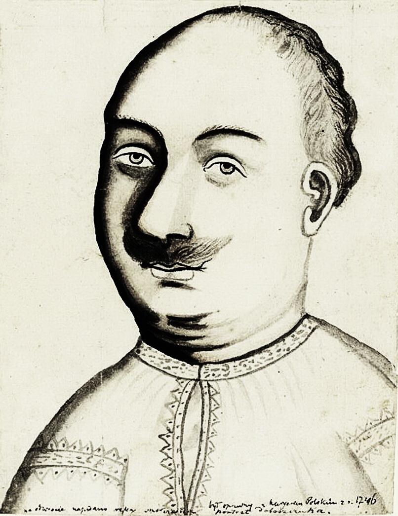 Історичний оригінал, портрет, мальований поляками