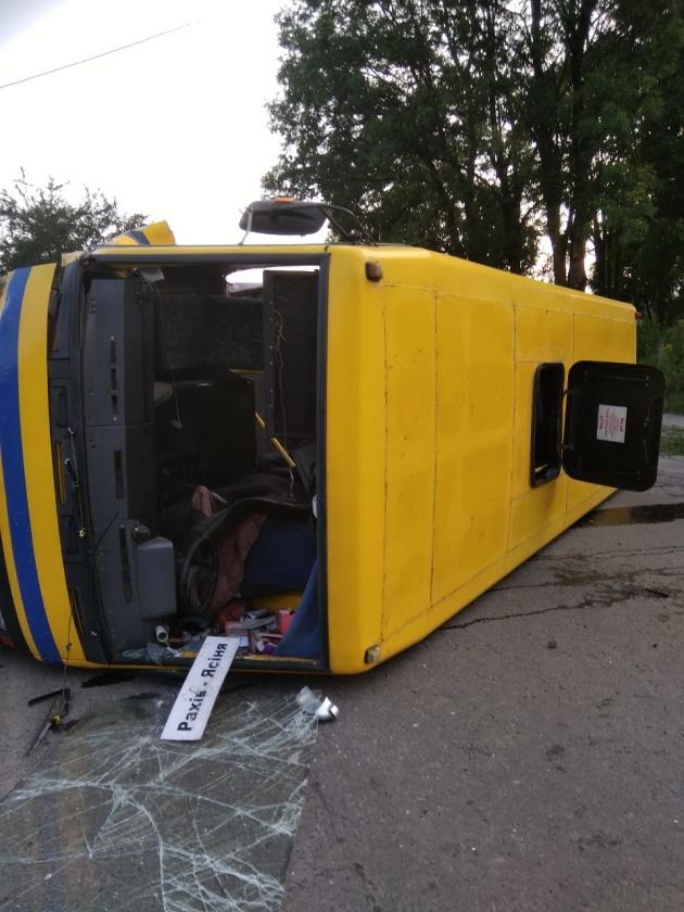 1566983982 474 - На Закарпатті автобус зіткнувся з іномаркою, десятеро постраждалих