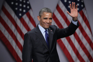 Експрезидент Обама вперше публічно виступив на виборчому мітингу за Байдена