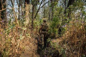 Donbass: Besatzer verwenden verbotene Mörser, ein ukrainischer Soldat gefallen