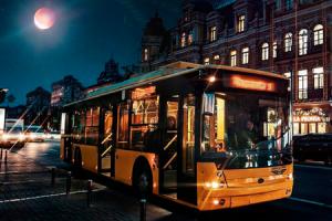 Ночной троллейбус изменит маршрут из-за ремонта