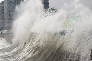 В Японии из-за тайфуна отменили почти 500 авиарейсов
