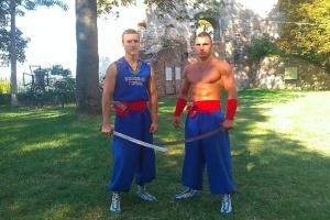 Kampf-Hopakmeister besuchen mit Vorführung Frankreich