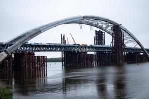 Кличко каже, що пустити авто Подільсько-Воскресенським мостом реально до кінця року