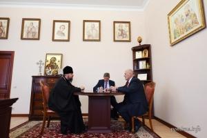 Митрополит Епіфаній і представники СКУ обговорили розширення співпраці