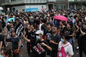 В Гонконге снова уличные протесты