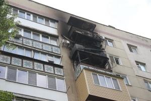 В Одесі горіла багатоповерхівка