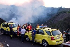 Из-за пожаров на Канарах эвакуировали почти 2 тысячи человек