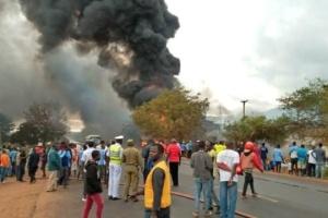 Вибух бензовоза в Танзанії: жертв уже майже сотня