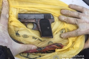 На Вінниччині затримала підозрюваного у торгівлі зброєю