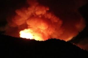 Лісові пожежі на Канарах: понад чотири тисячі евакуйованих