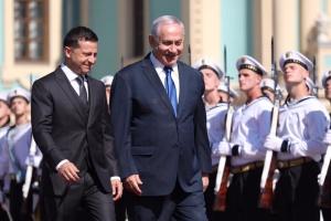 イスラエル首相、ウクライナとの自由貿易圏発効を歓迎