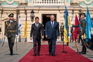 Po raz pierwszy od 20 lat izraelski premier przyleciał na Ukrainę ZDJĘCIA, WIDEO