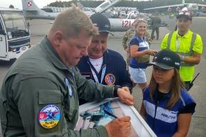 Український льотчик на авіашоу в польській Гдині показав найкращий пілотаж