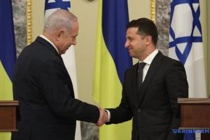 Впервые за 20 лет Украину посетил премьер Израиля
