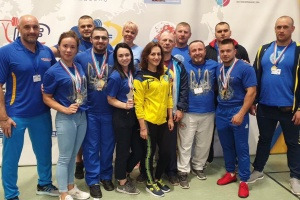 Чоловіча збірна України посіла 1 місце в командному заліку ЧЄ-2019 з пауерліфтингу