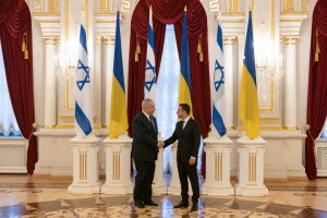 Zelensky: Ucrania aprovechará la experiencia de Israel en materia de defensa