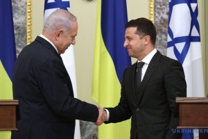 Zelensky, Netanyahu agree to settle problem of Israel's entry denials to Ukrainians