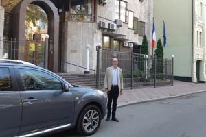 Le nouvel ambassadeur de France en Ukraine arrive à Kyiv