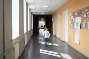 За шість років  на Донбасі школярів поменшало майже у 2,5 раза