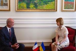 Новый посол Франции вручил копии верительных грамот заместителю главы МИД