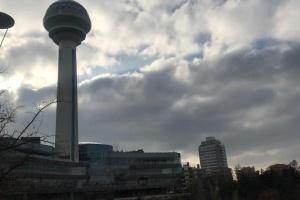 В Анкаре башню Атакюле 24 августа подсветят сине-желтым