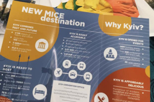 Kyiv presented in Stockholm as new destination for MICE tourism