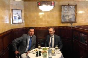 """Посол Щерба встретился с новым послом Австрии в Украине: """"Думаю, сработаемся"""""""