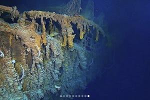 Исследователи показали, как выглядит Титаник спустя 107 лет после катастрофы