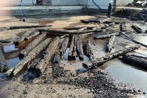 """Пожежа на """"Новій пошті"""" у Полтаві: ані люди, ані вантажі не постраждали"""