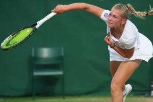 Костенко вышла в парный полуфинал юношеского турнира ITF в США