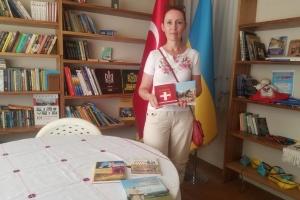 Українська бібліотека в Анталії поповнилася новими книгами про Україну