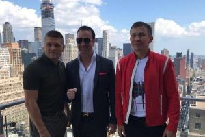 Дерев'янченко і Головкін провели першу дуель поглядів