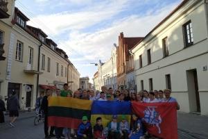 Дети бойцов 30 бригады отдохнули в Литве