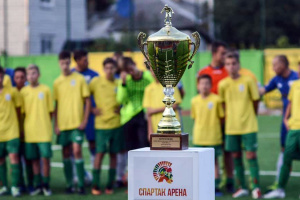 У Житомирі відновлений стадіон відкрили футбольним турніром пам'яті Дмитра Рудя