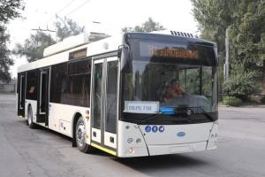 У Запоріжжі з'явився перший тролейбус з автономним ходом