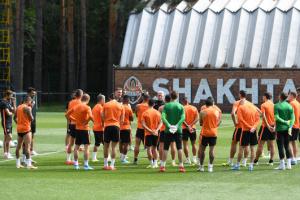"""""""Шахтер"""" провел открытую тренировку перед матчем с """"Мариуполем"""""""
