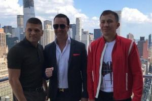 Boxen: Derevyanchenko und Golovkin schauen sich das erste Mal in Augen