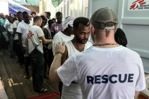 На Мальте примут 356 мигрантов, которые провели две недели в Средиземном море